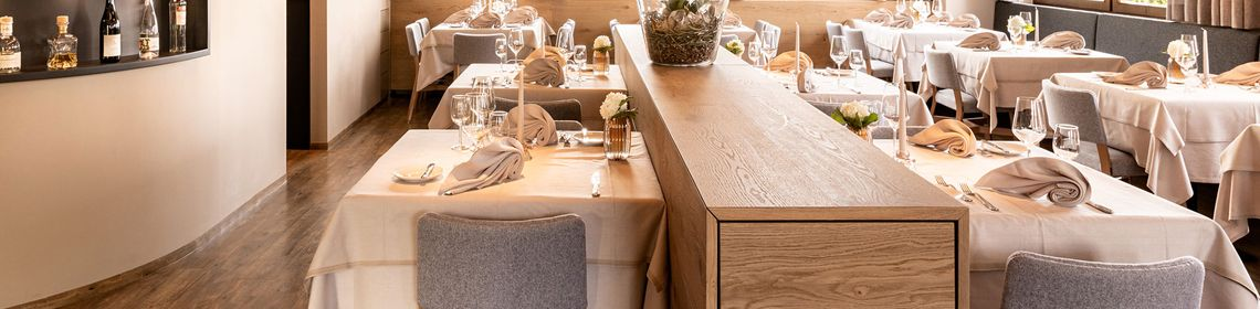 Stylish yet comfortable: many prominent guests, including the players of the German national soccer team have dined here.